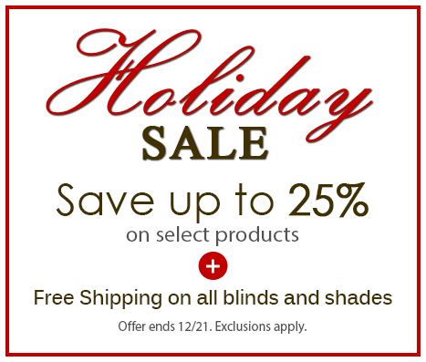 Holiday Sale!  Save up to 25% on select items + free shipping. Ends Dec 21.